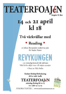 Affisch Reading 14 och 21 april