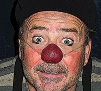 Clownen Bulgo, Stadra Teater 22-23 augusti kl 15, 2015