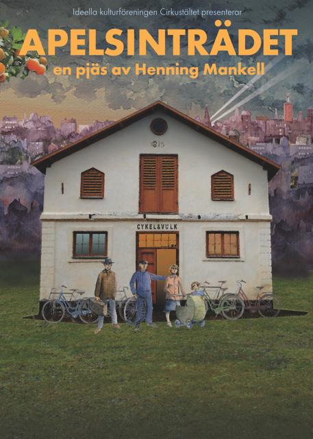 Affisch Apelsinträdet Stadra Teater 2016