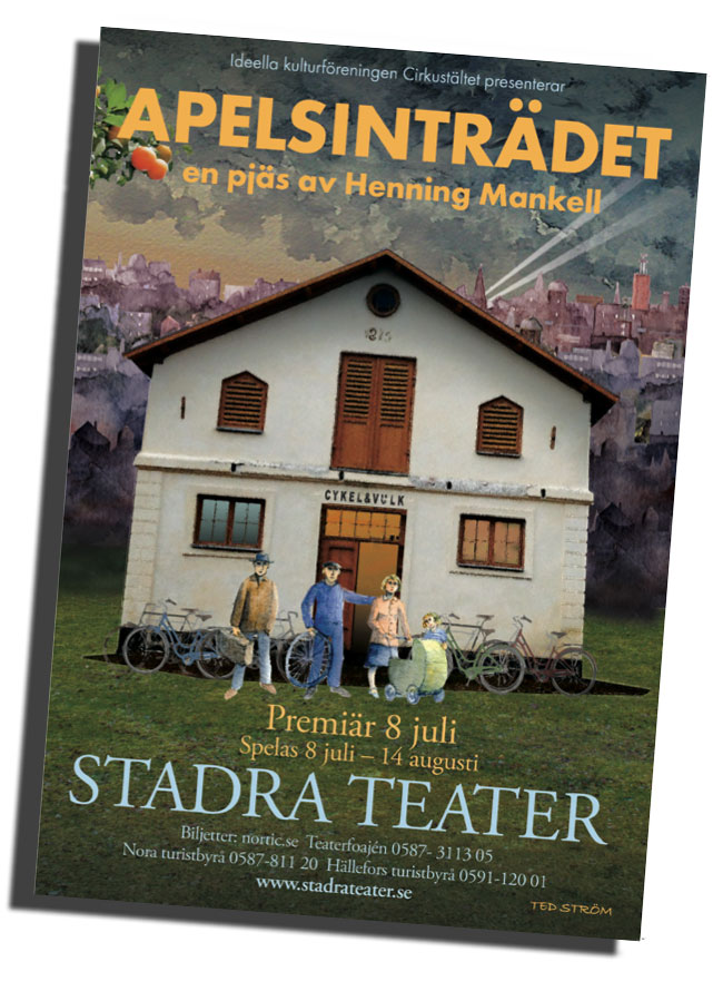 HENNING MANKELLpå Stadra Teater!